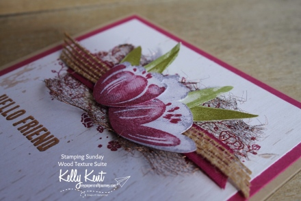 Stamping Sunday - Wood Textures | kelly kent