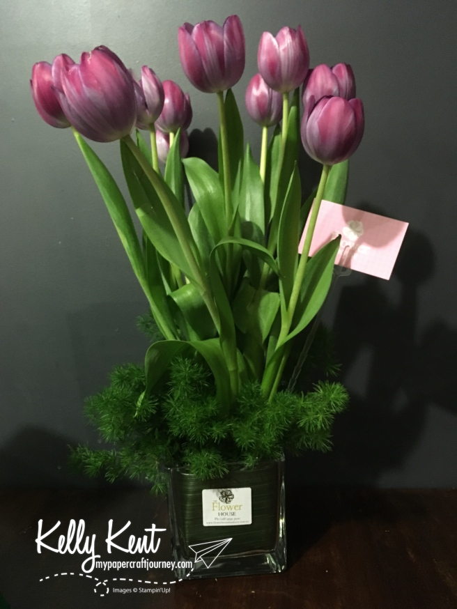 Birthday Tulips | kelly kent