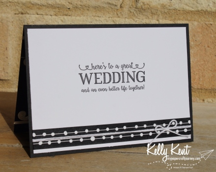 Personalised Wedding Card | kelly kent
