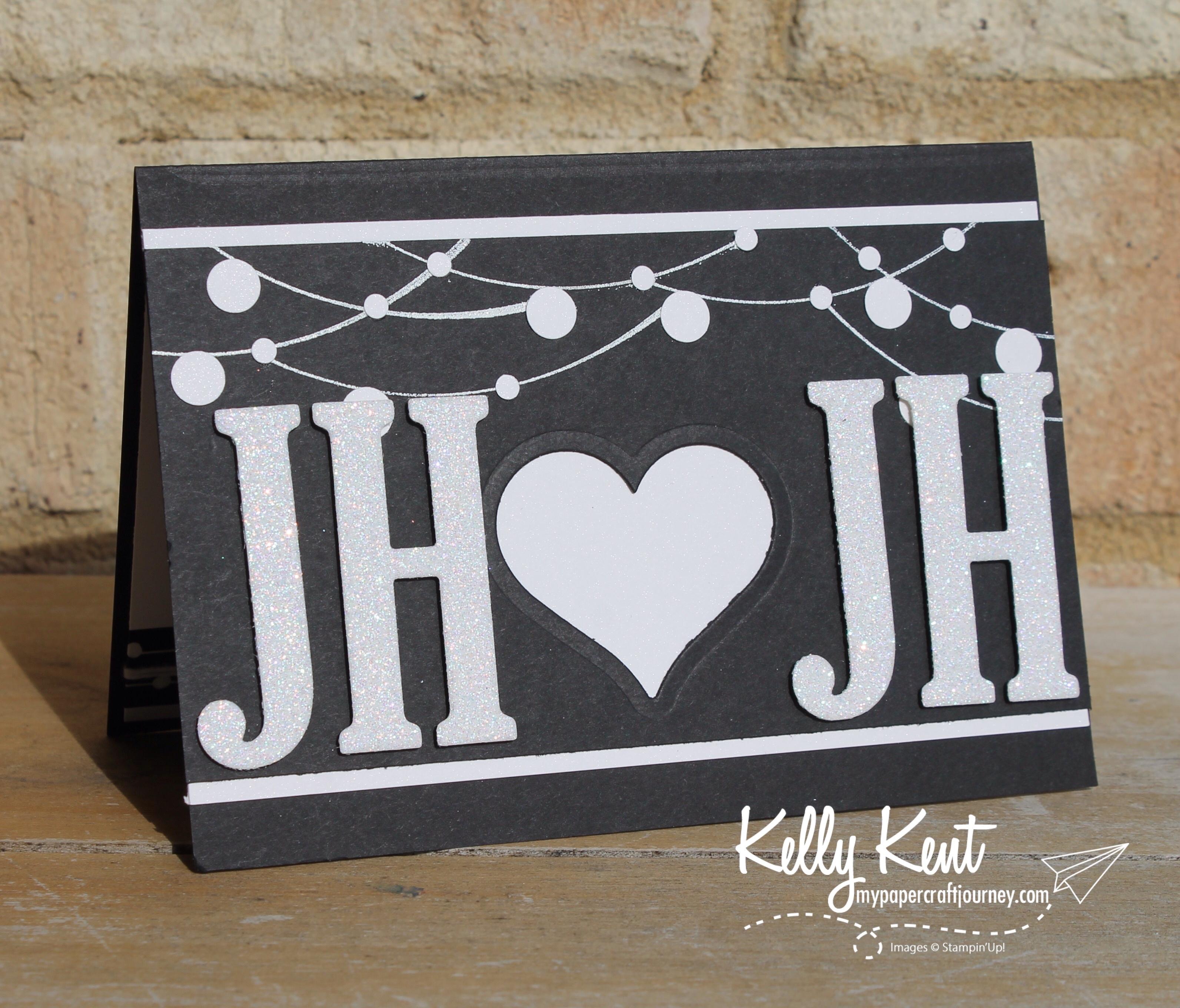 Personalised Wedding Card | kelly kent