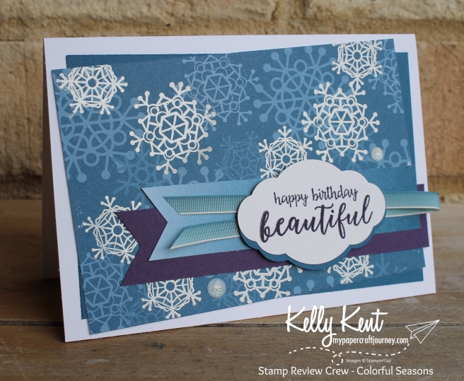 Stamp Review Crew - Colorful Seasons | kelly kent