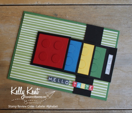 Stamp Review Crew - Labeler Alphabet | kelly kent