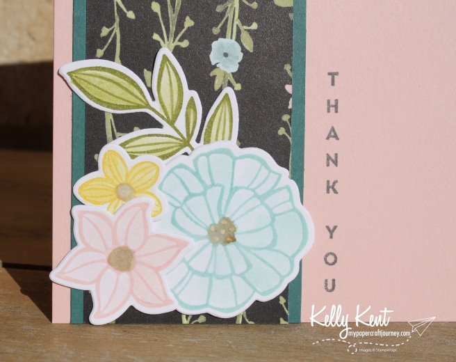 Falling Flowers Thank You Cards | kelly kent