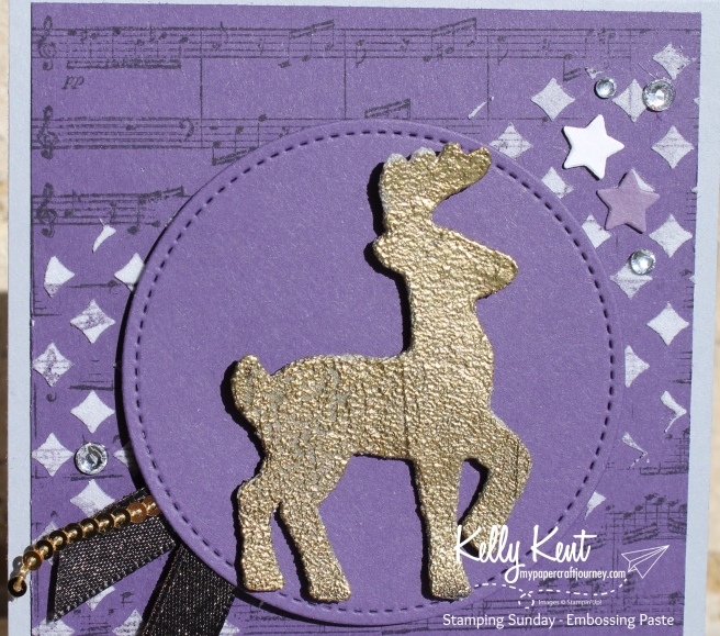 Stamping Sunday - Embossing Paste | kelly kent