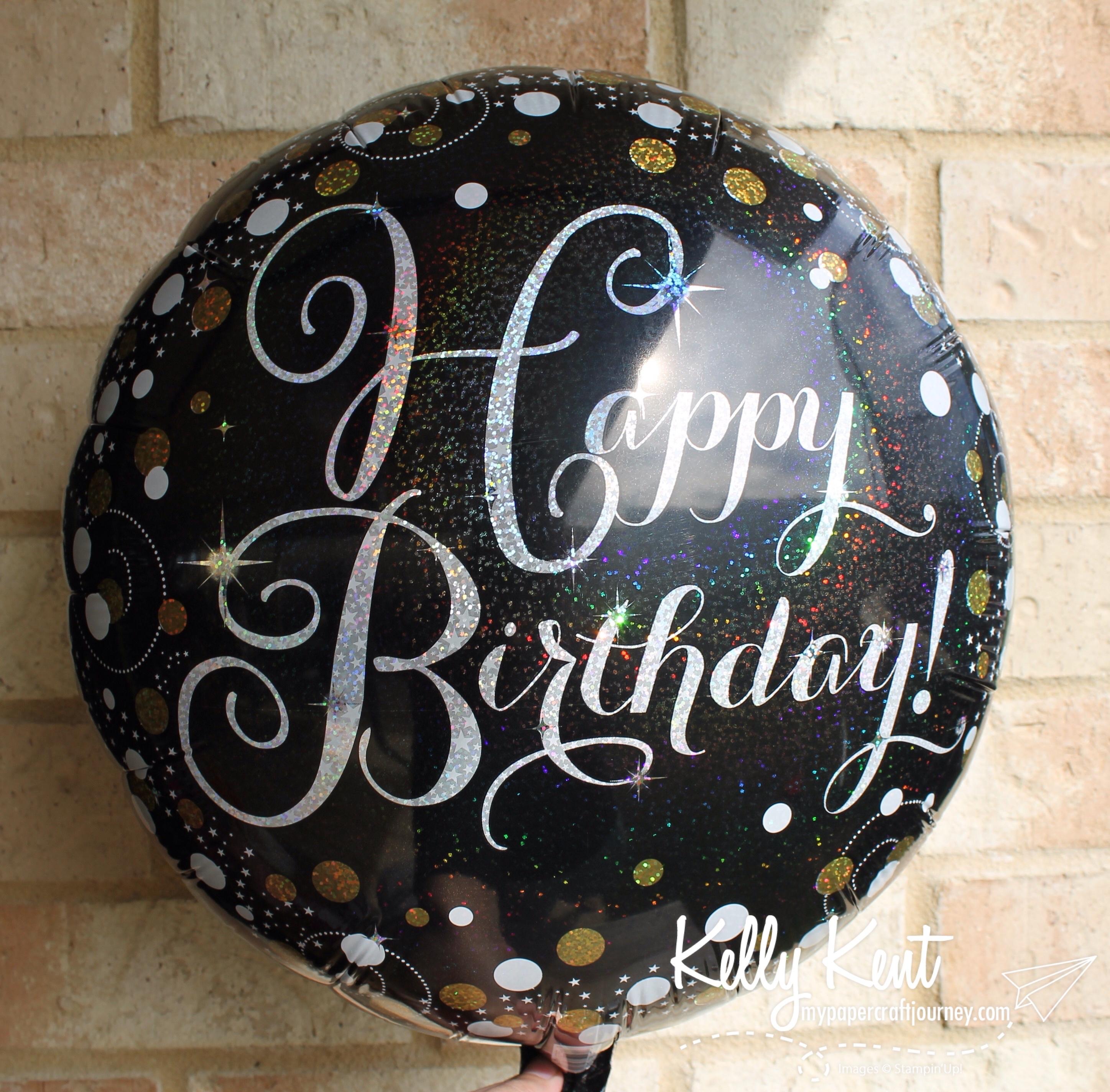 Happy Birthday Thinlit | kelly kent