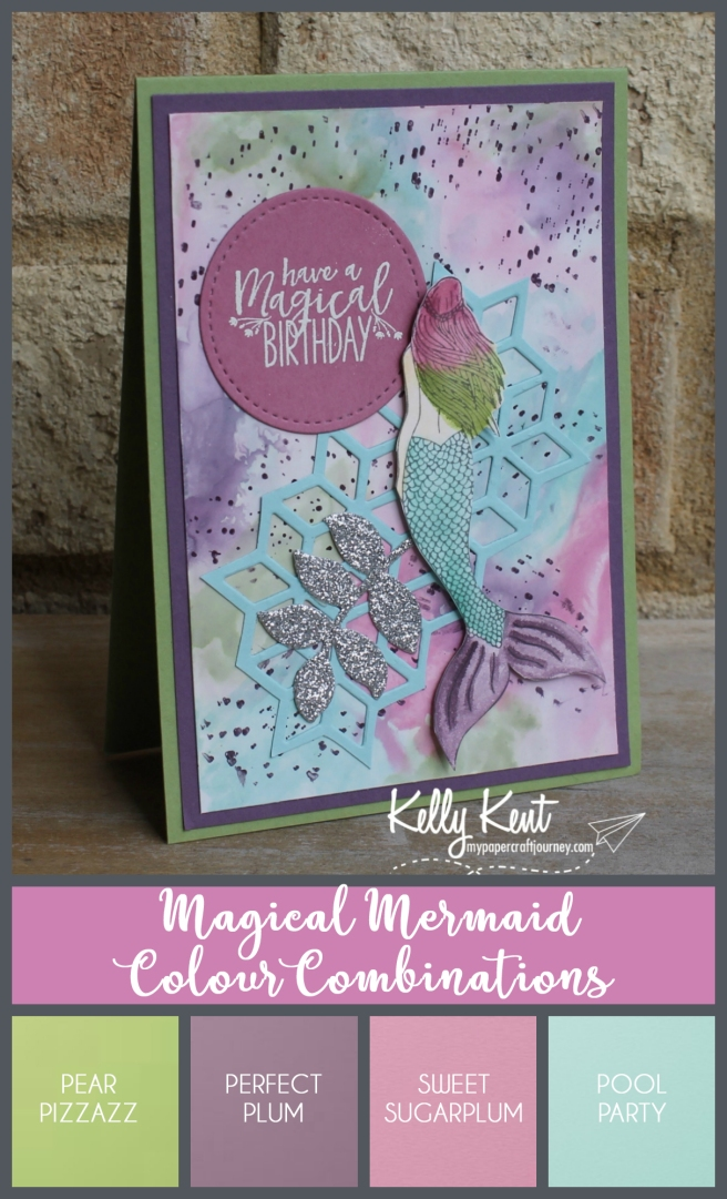 Magical Mermaid Colour Combinations | kelly kent