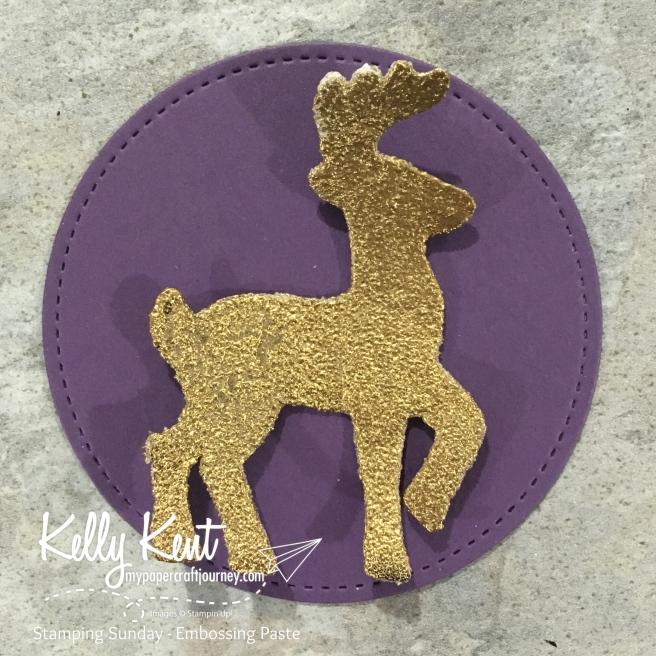 Stamping Sunday - Embossing Paste | kelly kent