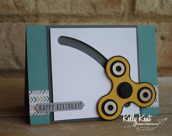 Fidget Spinner Card | kelly kent