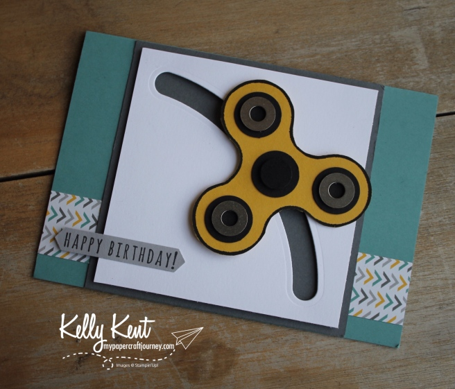 Fidget Spinner Card | kelly kent