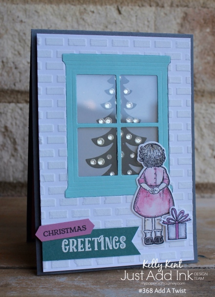 Just Add Ink #386 Christmas Twist | kelly kent