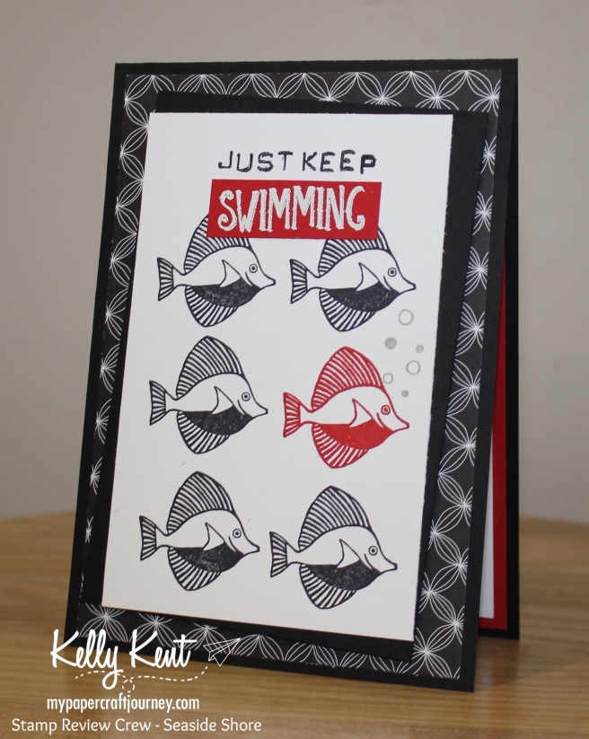 Stamp Review Crew - Seaside Shore | kelly kent