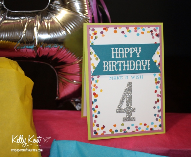 Miss Papercraft Turns 4!