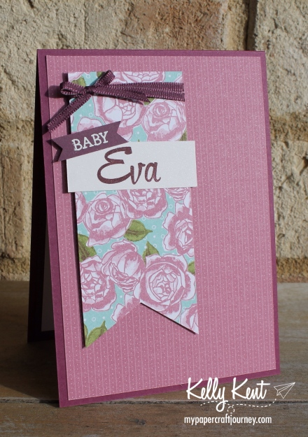 Personalised Baby Card | kelly kent