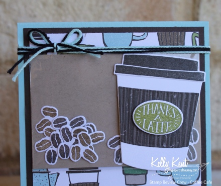 Stamp Review Crew - Coffee Cafe | kelly kent