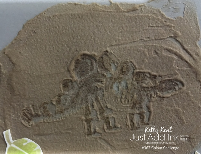 Just Add Ink #367 Dinosaur Fossil | kelly kent