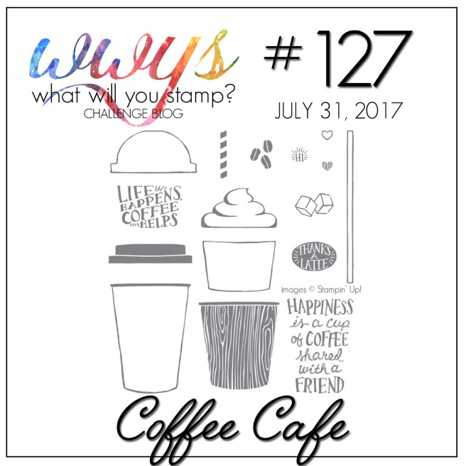What Will You Stamp #127 Coffee Cafe