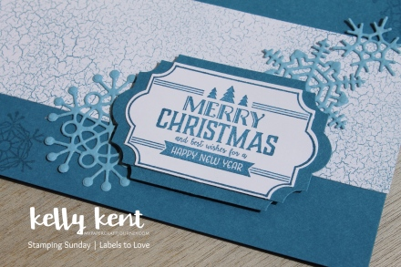Stamping Sunday - Labels to Love | kelly kent