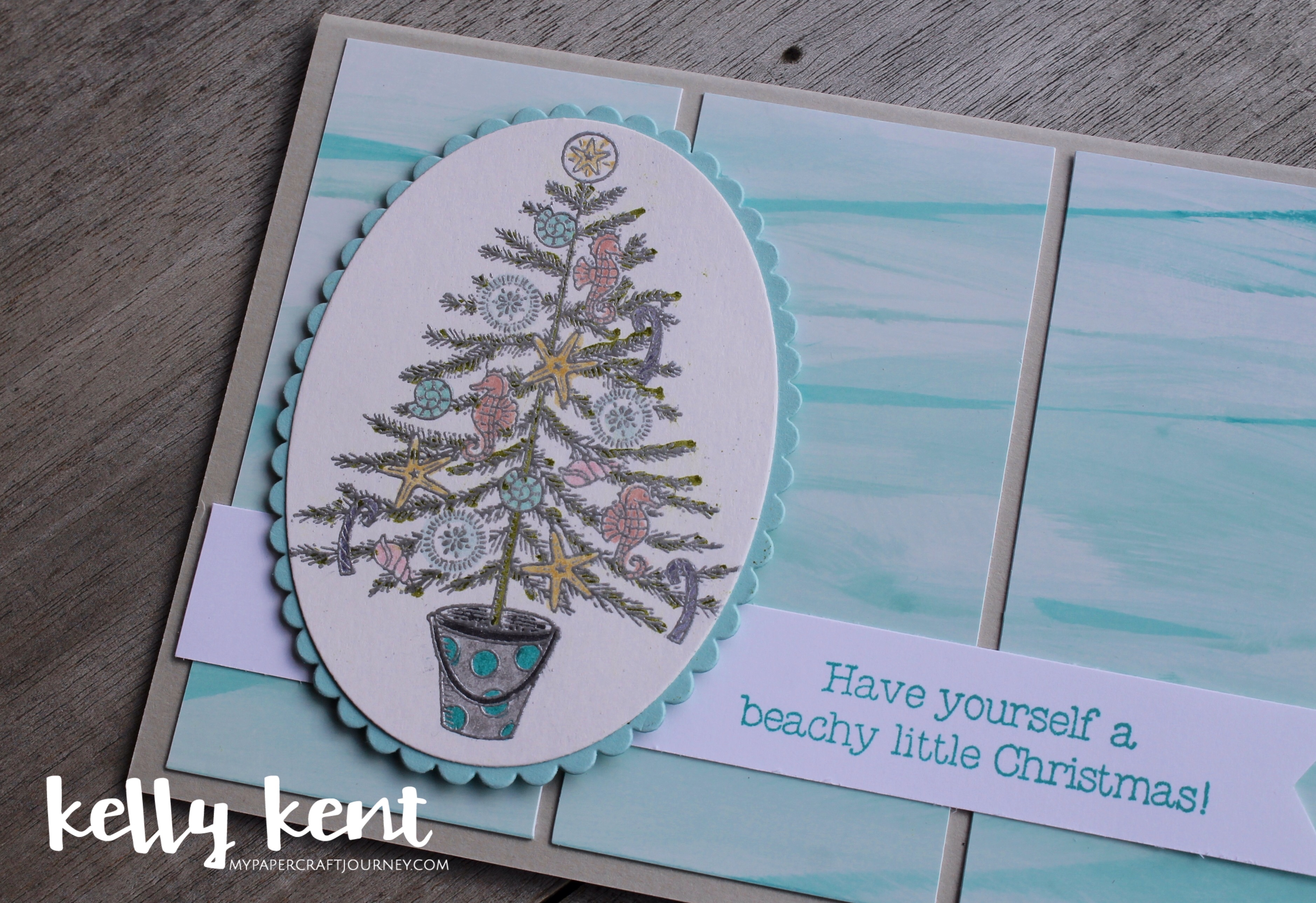 Beachy Little Christmas | kelly kent