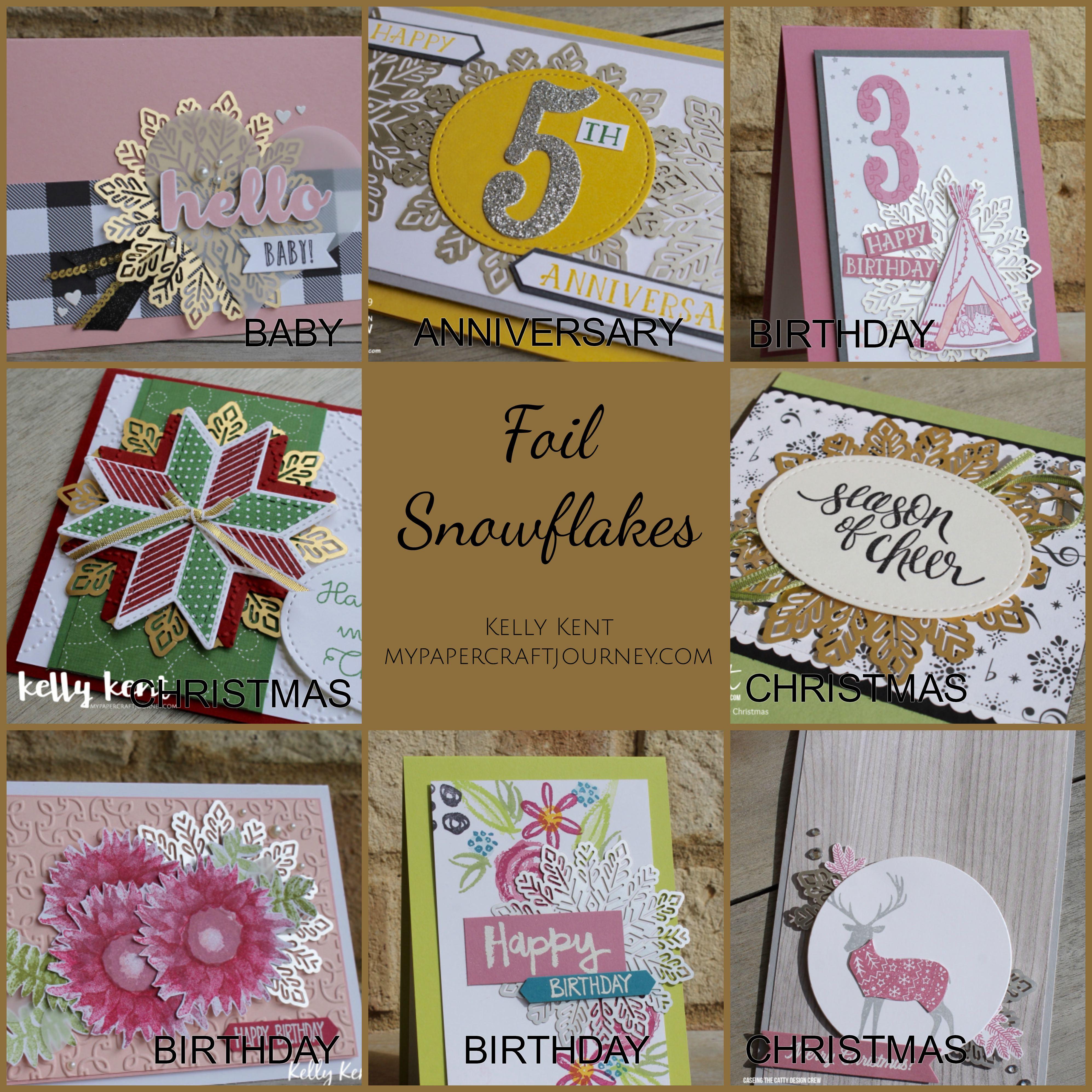 Foil Snowflakes | kelly kent