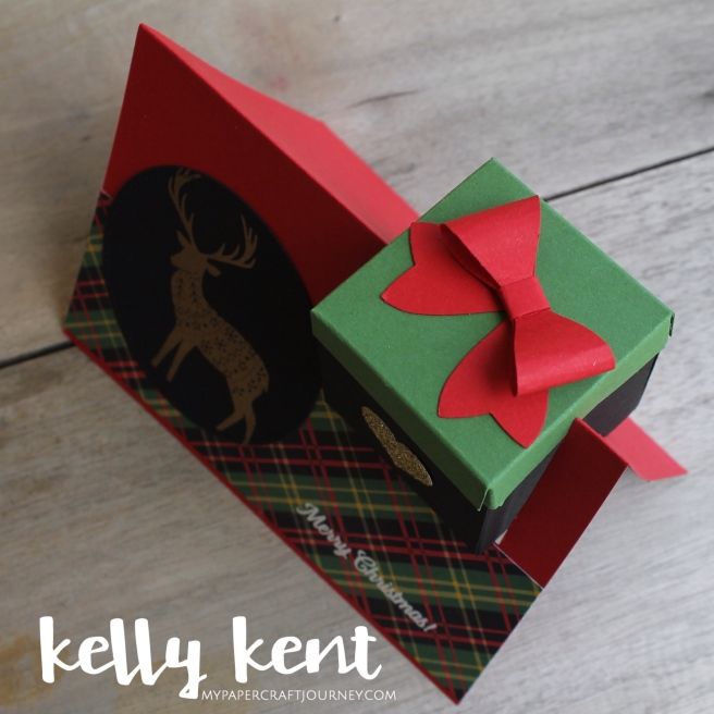 Gift Box in a Card   kelly kent