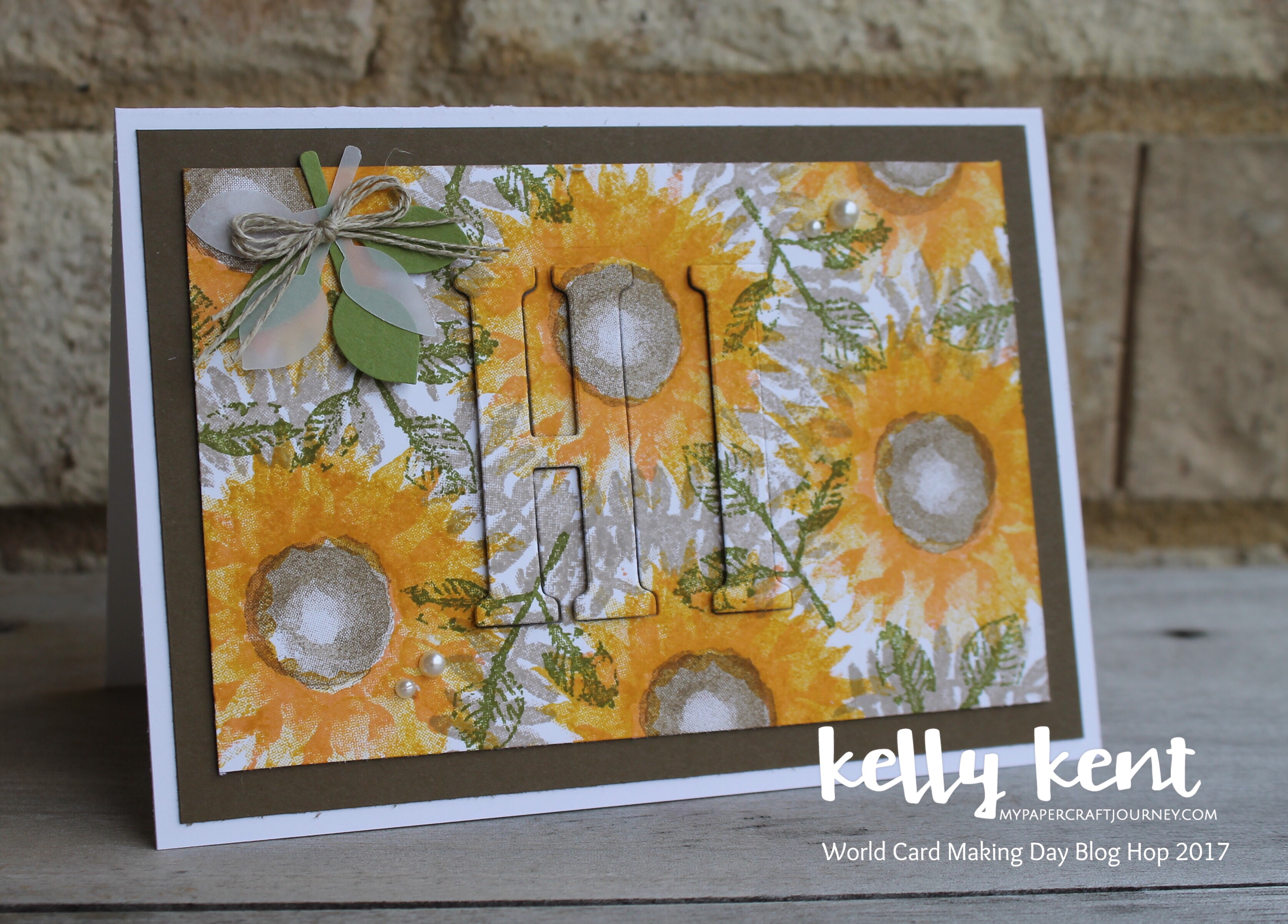 Painted Harvest Eclipse Card | kelly kent