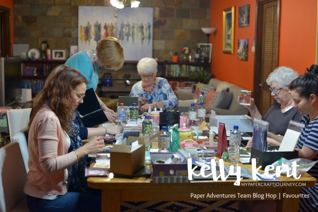 Paper Adventures Team Blog Hop October | kelly kent