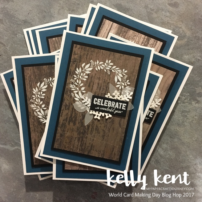 End of Stampin' Up! Year Team Cards | kelly kent