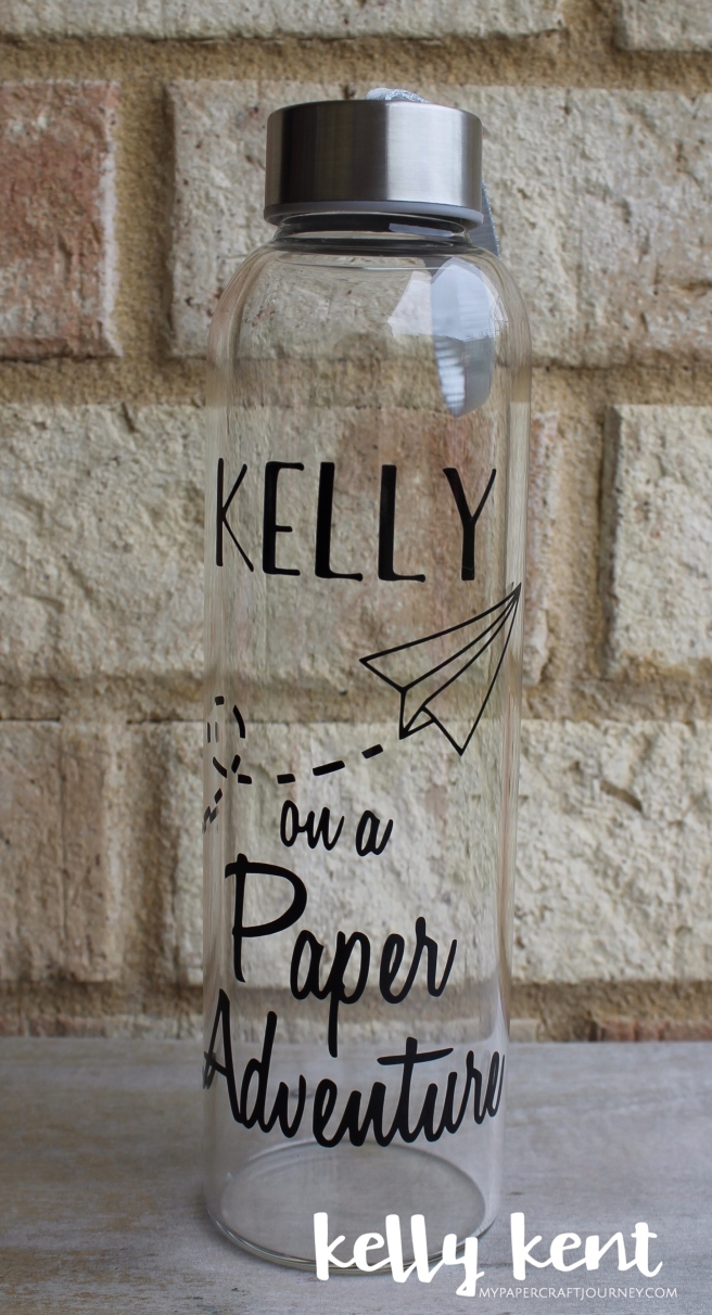 OnStage 2017 Personalised Water Bottles | kelly kent