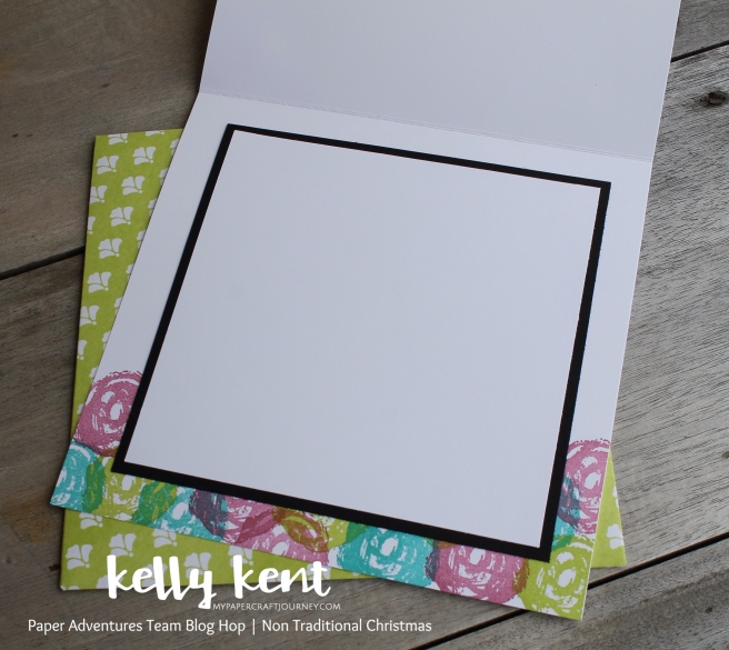 Paper Adventures Non Traditional Christmas | kelly kent