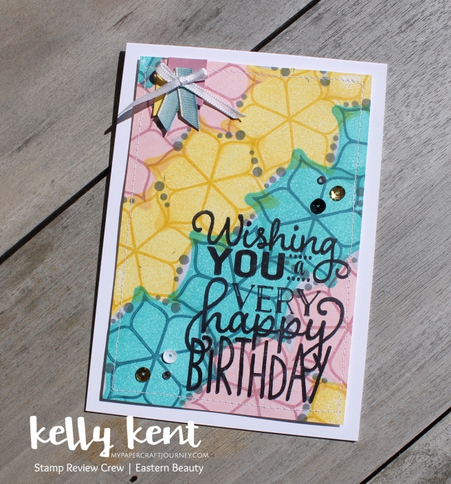 Stamp Review Crew Eastern Beauty | kelly kent