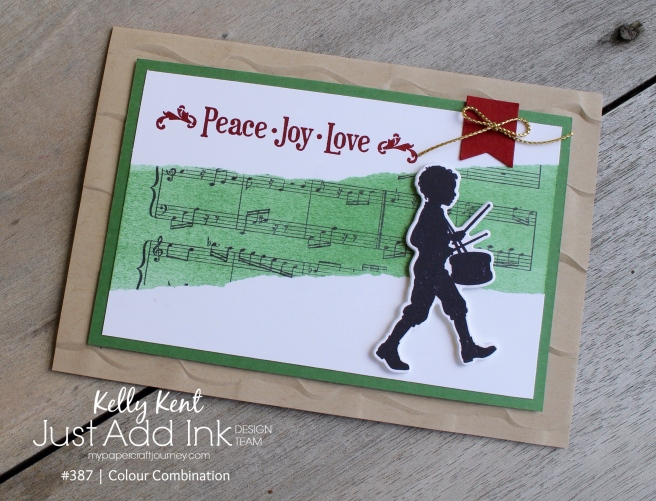 Just Add Ink #387 Colour Challenge | kelly kent