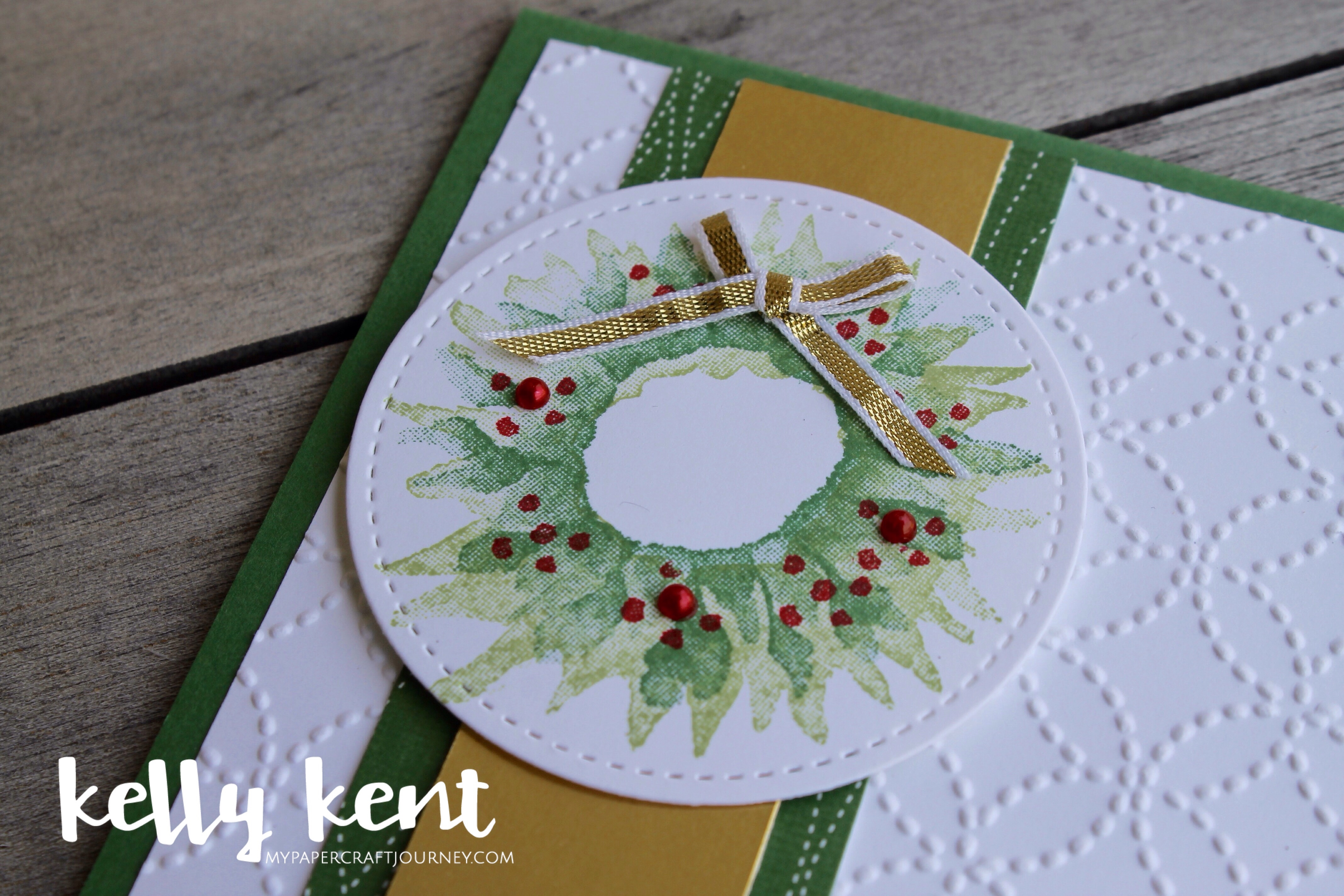 Painted Wreath | kelly kent