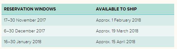 Stamparatus Pre-Order Dates