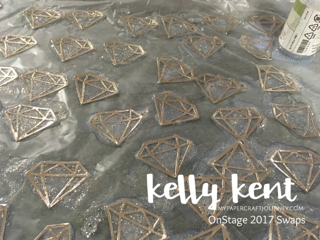 Stained Glass Diamonds | kelly kent