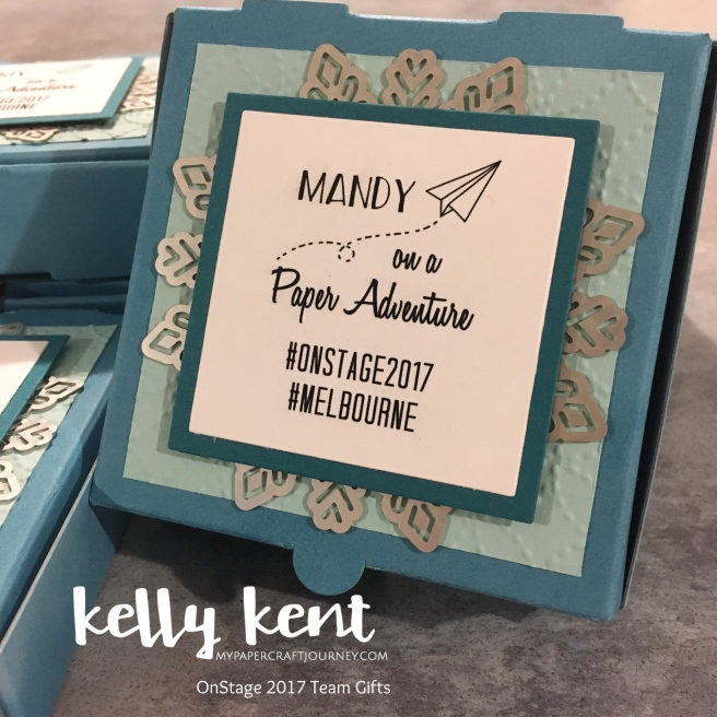 OnStage 2017 Memory Box | kelly kent