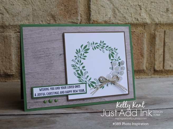 Just Add Ink #389 Bush Christmas | kelly kent