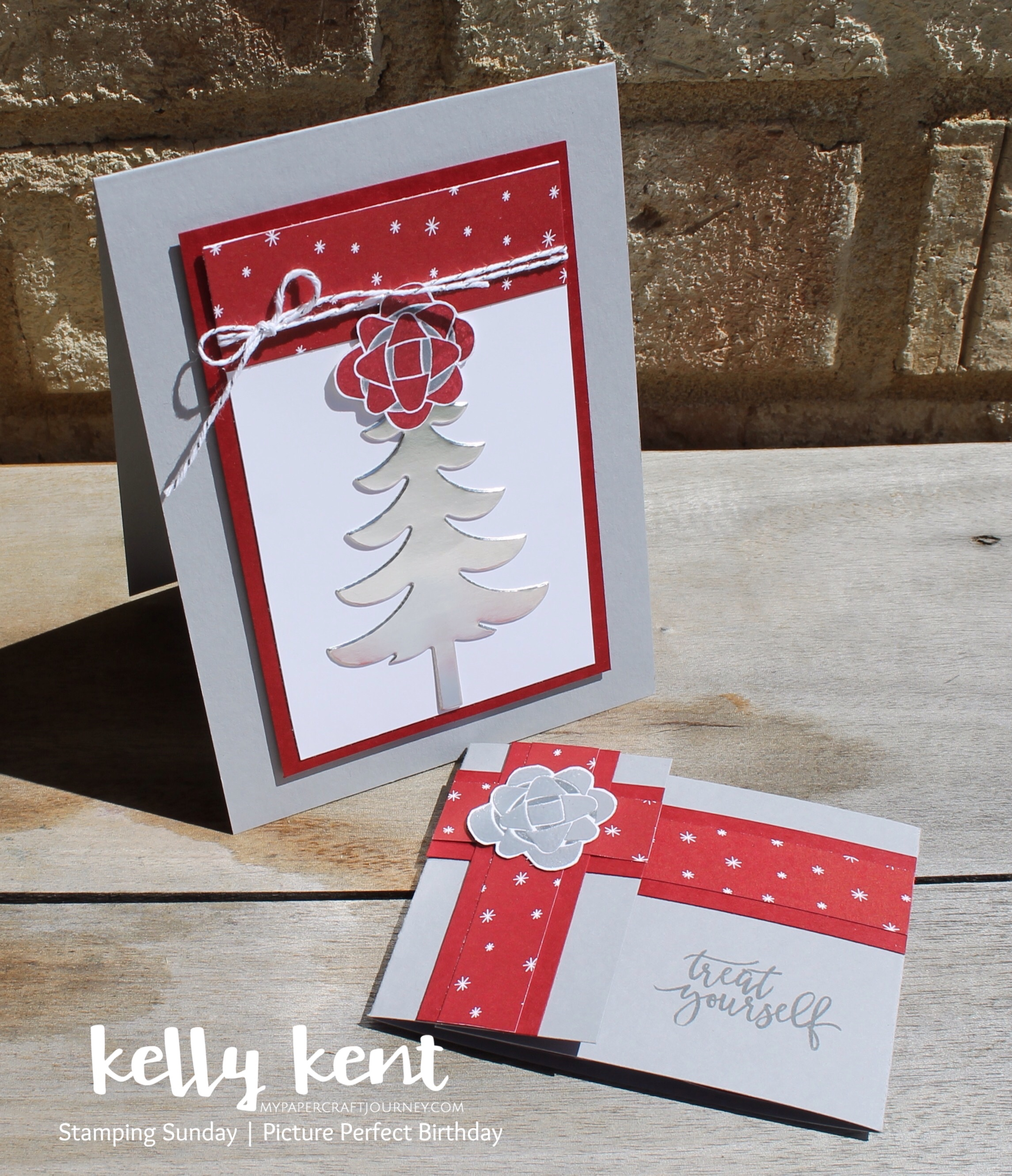 Stamping Sunday Picture Perfect Birthday (Christmas) | kelly kent