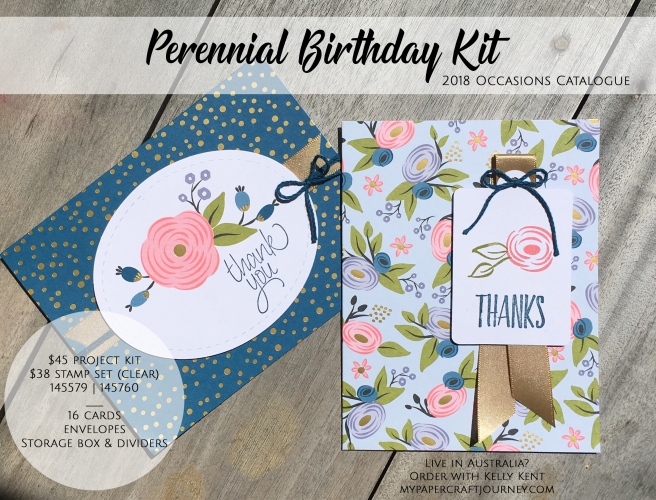 Perennial Birthday Kit | kelly kent