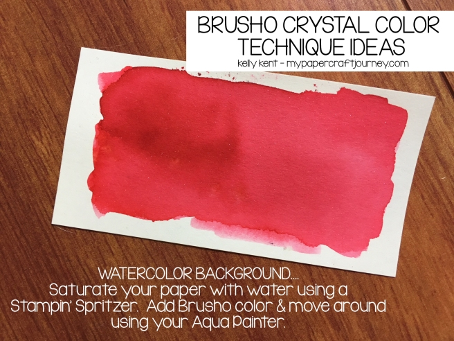 Brusho - Watercolor Background | kelly kent