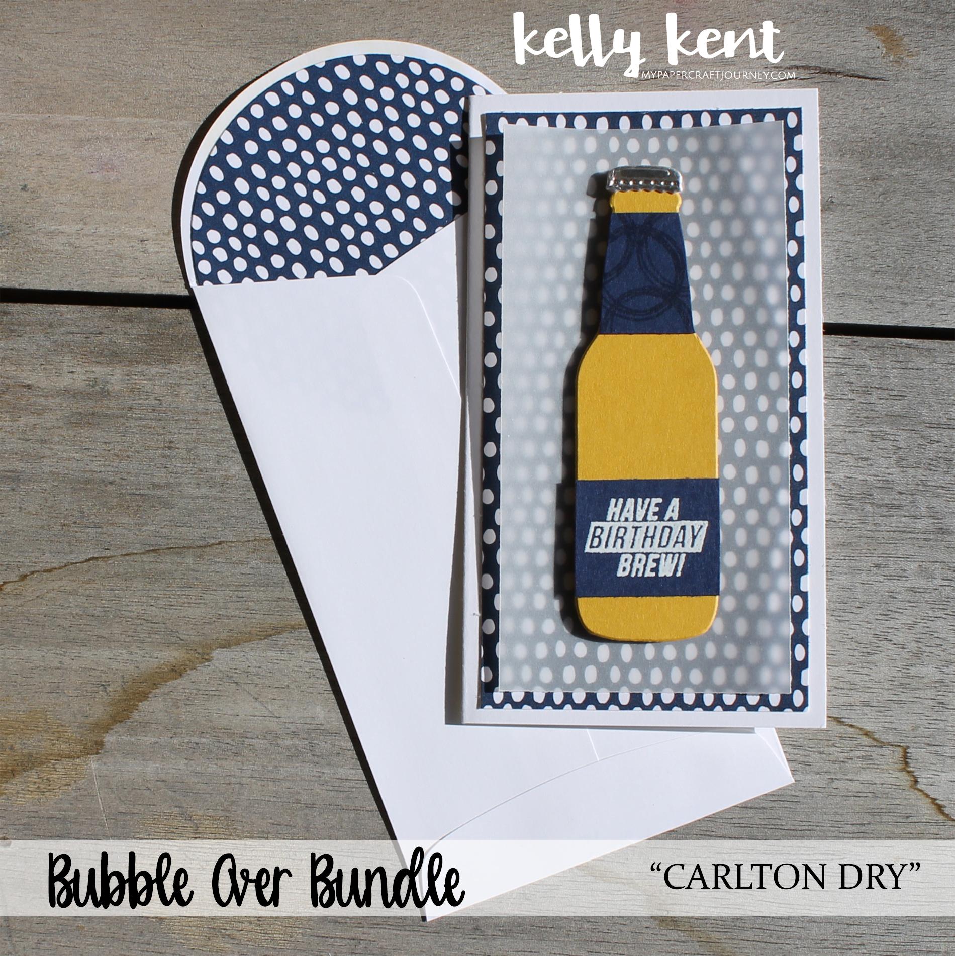 Bubble Over - Carlton Dry | kelly kent