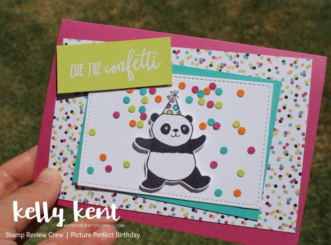 Stamp Review Crew - Picture Perfect Birthday | kelly kent
