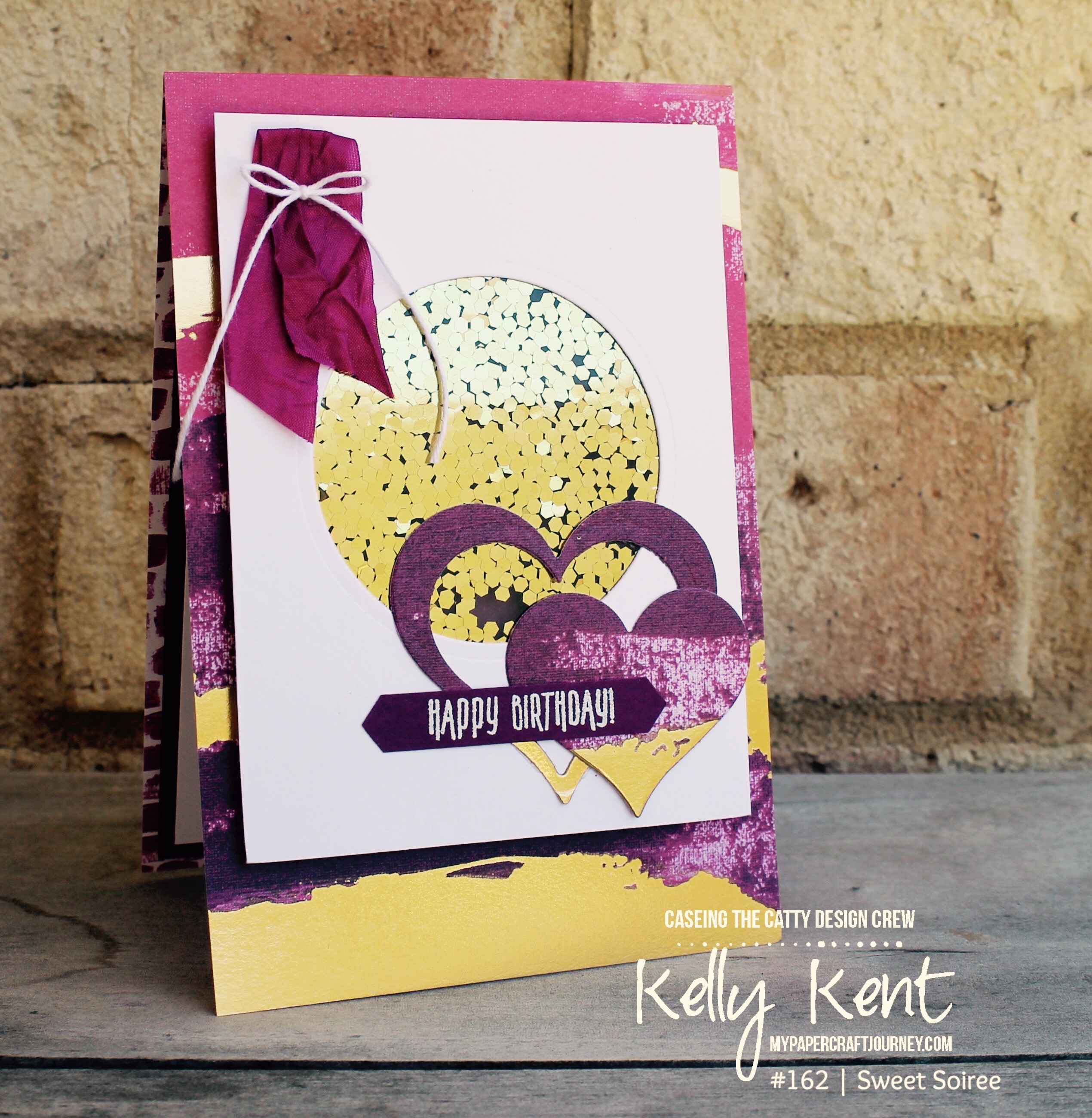 CASEing the Catty #162 Painted with Love | kelly kent