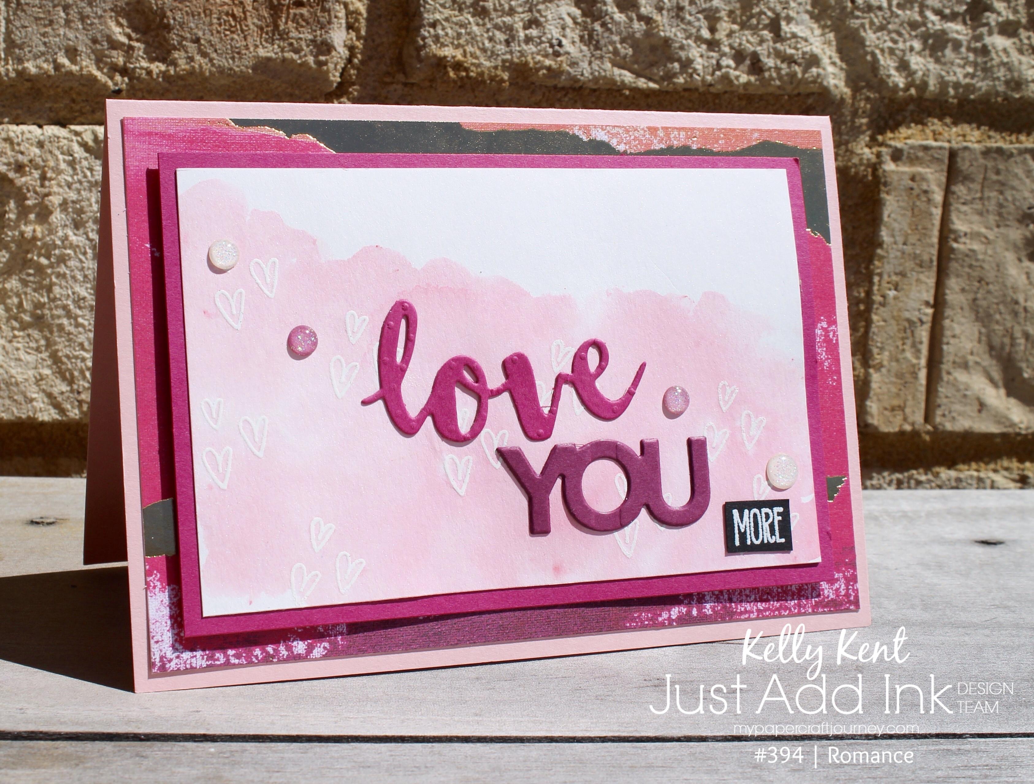 Just Add Ink #394 Romance | kelly kent