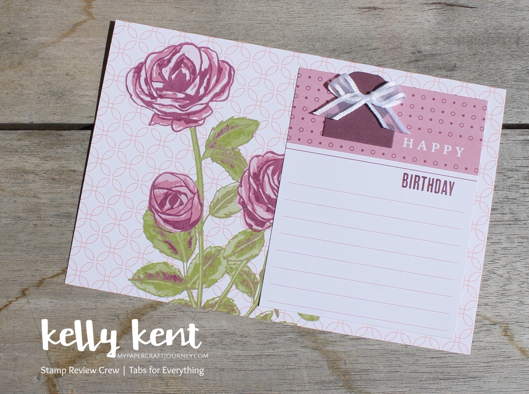 Stamp Review Crew - Tabs for Everything | kelly kent