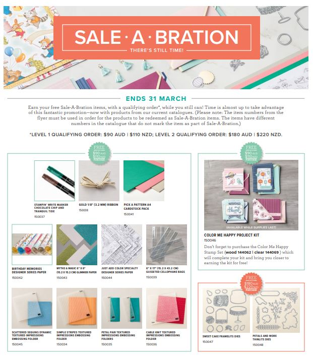 Sale-A-Bration 2018 | kelly kent