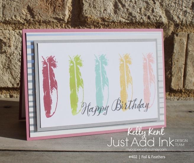 JAI #402 Foil & Feathers | kelly kent