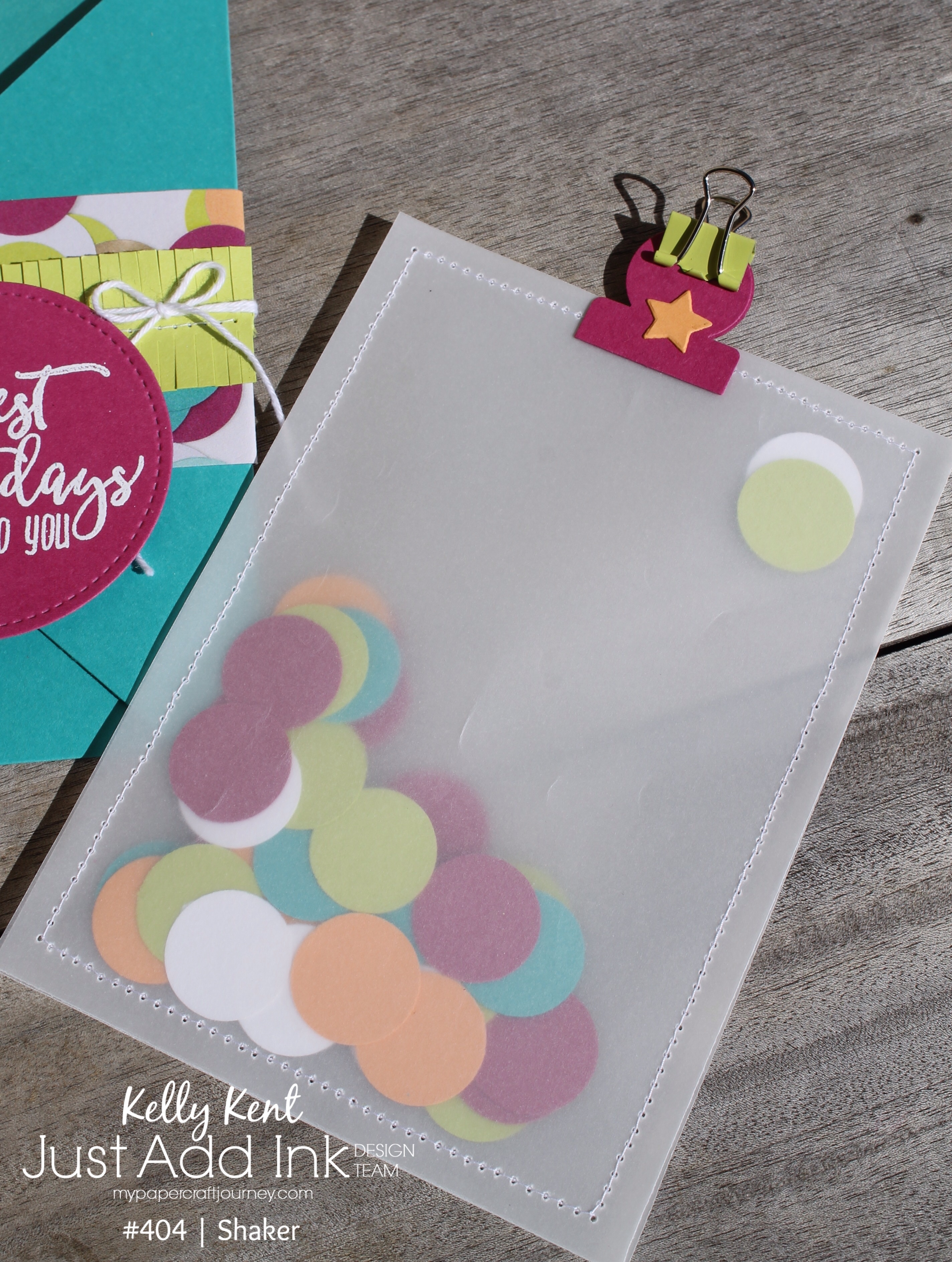 Picture Perfect Party Shaker | kelly kent
