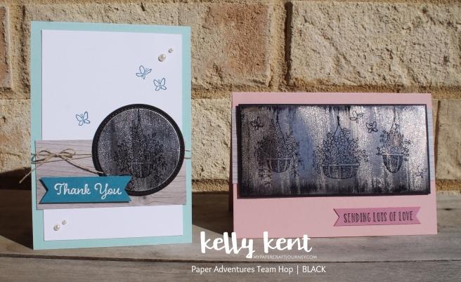 Hanging Garden - Black Ice | kelly kent