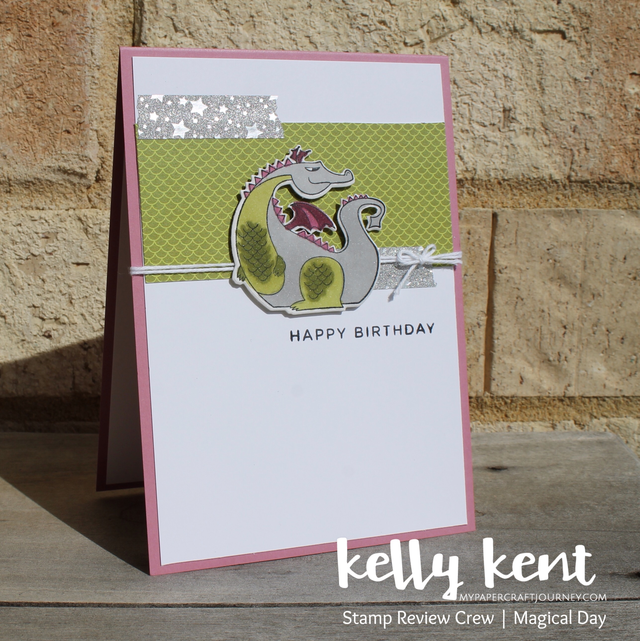 Stamp Review Crew - Magical Day   kelly kent