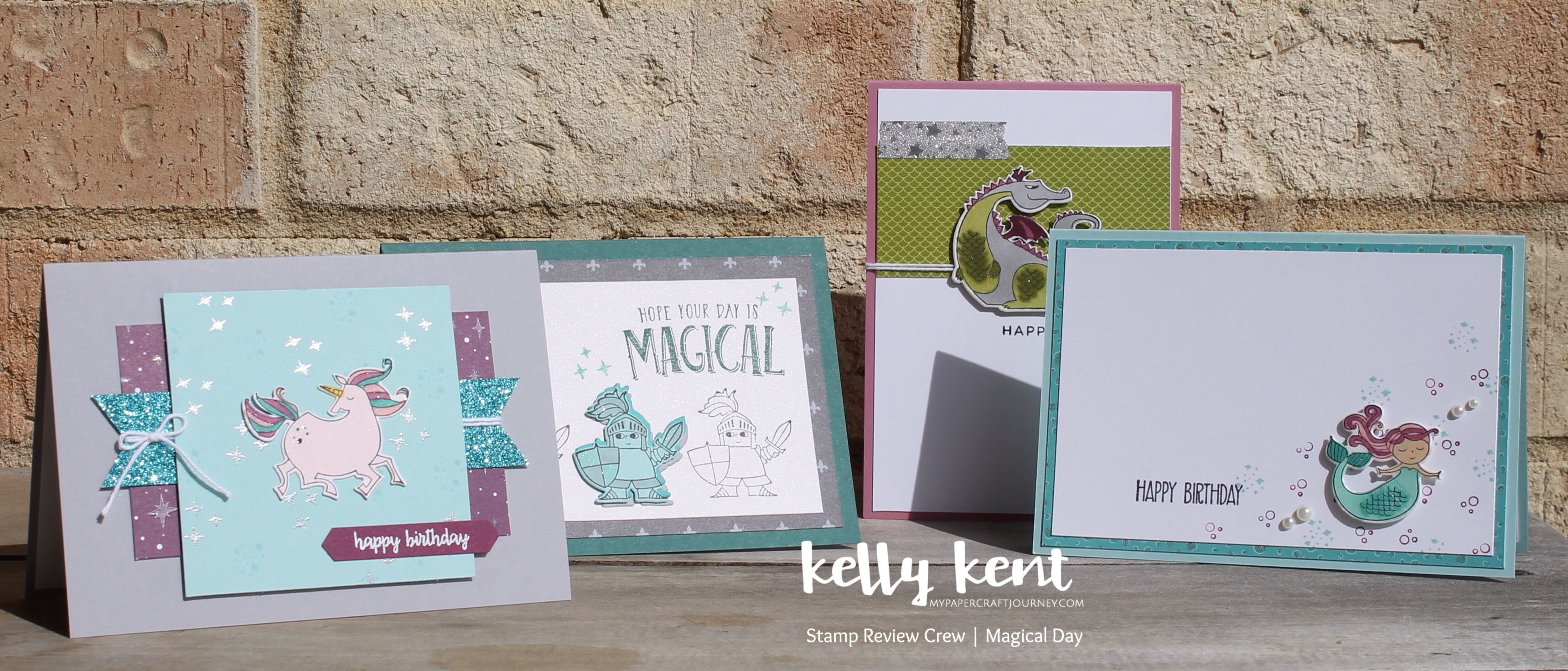 Stamp Review Crew - Magical Day | kelly kent